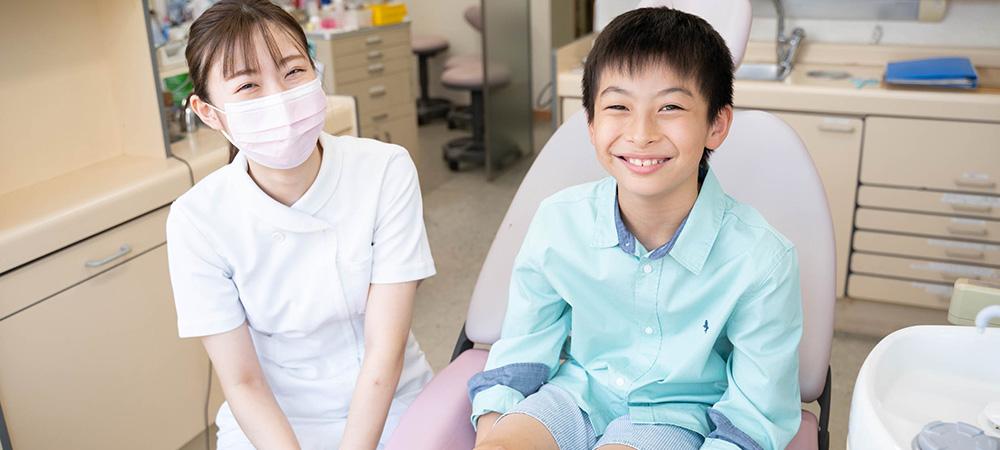 お子様に寄り添った小児歯科